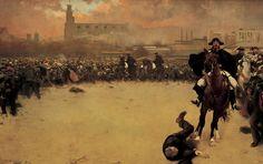 La Càrrega (The Charge), Ramon Casas. Barcelona 1902