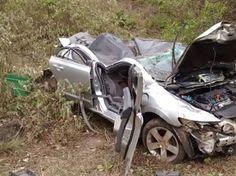 Três pessoas morrem em acidentes de carro no interior da Paraíba neste Natal | Gavião da Paraíba