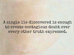 Lie....