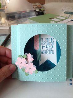 Cute! Cute! - Dena's Googly Ghouls Shadow Box Card ...