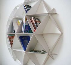 Honeycomb Shelves by Jaanus Orgusaar