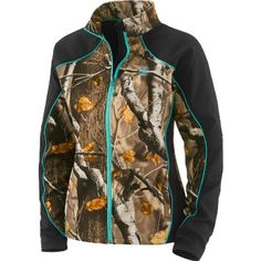 Legendary Whitetails Women's Timber Creek Softshell Black Small