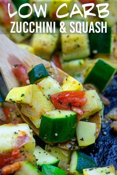 Sauteed Zucchini and Squash – this low carb side dish just tastes like summer and it's ready in about 15 minutes too! Sauteed Zucchini and Squash – this low carb side dish just tastes like summer and it's ready in about 15 minutes too! Low Carb Side Dishes, Healthy Side Dishes, Vegetable Side Dishes, Side Dishes Easy, Vegetable Recipes, Veggie Side, Sauteed Zucchini And Squash, Sauteed Vegetables, Veggies