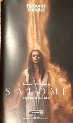 Salomé, NT Olivier Theatre. By Yaël Fabre. 19 May 2017