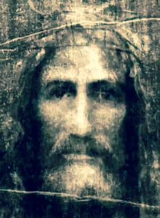 Face of Christ based on the Turin Shroud