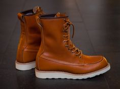 "The ""Japanese\"" Red Wing 9877 Gold Sequioa"