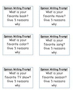 Back to School Writing Prompts and printables to keep students ...