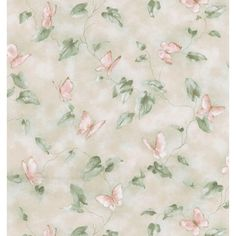 Brewster 56 sq. ft. Butterfly Trail Wallpaper-402-45108 at The Home Depot