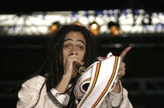 Damian Marley--a while ago. Like Welcome to Jamrock time ago.