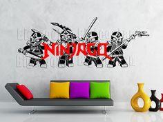 Ninjago wall decal