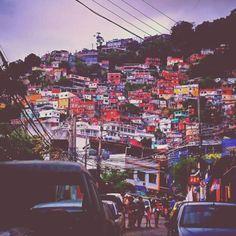 La favela #Vidigal à #Rio
