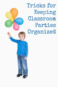 Tricks for Keeping Classroom Parties Organized