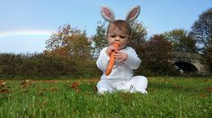 Meet Eliza, our April Easter bunny #BabyOfTheMonth #April