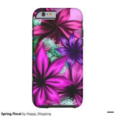 Spring Floral Tough iPhone 6 Case