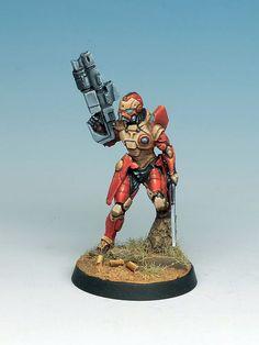 Asawira Regiment Infinity Miniature | Flickr - Photo Sharing! by Jon Geraghty