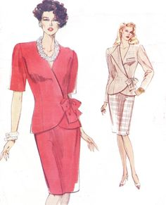 90s Very Easy Very Vogue Sewing Pattern 7746 Womens by CloesCloset, $10.00