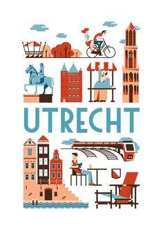 Poster Utrecht