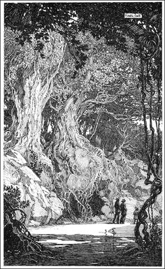 Franklin Booth(1874ー1948 an influential American artist known for his highly detailed pen-and-ink illustrations)