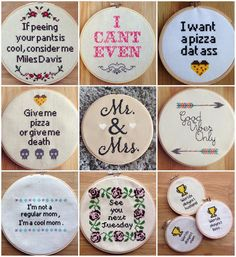 """Dorothy Dennis on Instagram: """"PDF's are now live in my shop! Also, all of these pieces you see here, some at discounted prices, are READY TO SHIP items, now listed as such. Grab one tonight and it will be shipped tomorrow morning! Making room for all the new things to come #nobasicstitches #etsysale"""""""