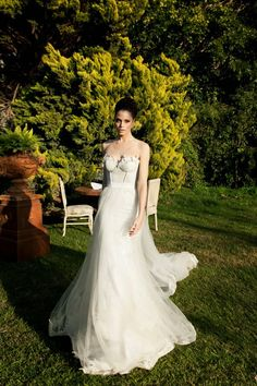 Wedding Dresses by Tal Kahlon | bellethemagazine.com