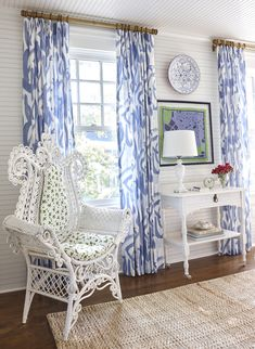 Lake Cottage as seen in Coastal Living — Chenault James Interiors Beach Cottage Decor, Lake Cottage, Cottage Style, Tudor Cottage, Cottage Design, Coastal Cottage, Coastal Homes, Blue Rooms, White Rooms