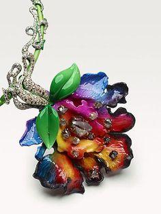 Rosamaria G Frangini | High Floral Jewellery | Fleurs d'Exces Victoire De Castellane