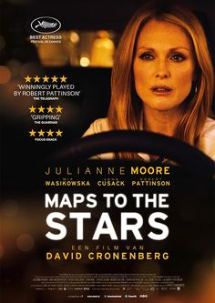 Maps To The Stars (2014) Directed by David CRONENBERG. Cannes Best Actress Julianne MOORE - ** - c V mex
