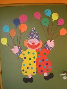 5ο Νηπιαγωγείο Τρίπολης: Αποκριάτικες κατασκευές 2013 Circus Art, Tweety, Art Ideas, Coloring, Bricolage, Day Care