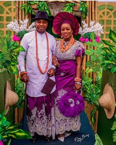 Nigerian Wedding Dresses Traditional, Traditional Wedding Attire, Traditional Weddings, Nigerian Fashion, African Fashion, Women's Fashion, Fashion Outfits, African Wedding Attire, African Attire