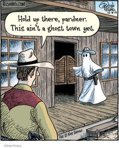 Bizarro by Dan Piraro - Bizarro Comic Strip Halloween Cartoons, Halloween Quotes, Halloween Humor, Halloween Goodies, Funny Puns, Funny Relatable Memes, Funny Stuff, Funny Things