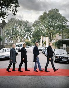 Duran Duran Forever. JT has the most sensible shoes....love it! :-))