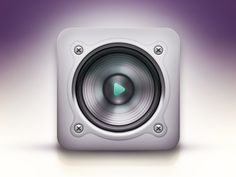 Speaker Icon by spovv