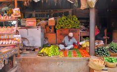 Markt, Stonetown, Sansibar © Carina Dieringer Carina, Freundlich, Food, Mouth Watering Food, Tanzania, Island, Essen, Meals, Yemek