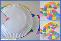 Summer Reading Adventure: Week 2 - The Rainbow Fish. Fun Rainbow Fish book activities, crafts, and snack ideas! Fish Crafts Preschool, Rainbow Fish Activities, Rainbow Fish Crafts, Ocean Crafts, Craft Activities, Preschool Christmas Crafts, Vbs Crafts, Christmas Activities, Toddler Crafts