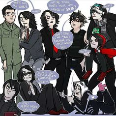 Gerard Way art Mcr Memes, Band Memes, Emo Bands, Music Bands, Rock Bands, My Chemical Romance, Music Stuff, My Music, Rock Music