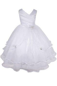 AMJ Dresses Inc Girls White Flower Girl Communion Dress Size 14 AMJ Dresses Inc http://smile.amazon.com/dp/B0096EDPDA/ref=cm_sw_r_pi_dp_PScRtb1SR291RPY5