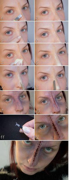 Easy Halloween makeup tutorials