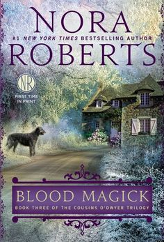 """LT F ROBERTS -- Blood Magick: """"County Mayo is rich in the traditions of Ireland, legends that Branna O'Dwyer fully embraces in her life and in her work as the proprietor of The Dark Witch shop, which carries soaps, lotions, and candles for tourists, made with Branna's special touch. Branna's strength and selflessness hold together a close circle of friends and family--along with their horses and hawks and her beloved hound. But there's a single missing link in the chain of her life: love..."""""""