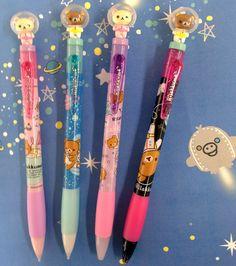 Space bear pens that r so kawaii Kawaii Pens, Kawaii Cute, Kawaii Stuff, Kawaii Things, Stationary Items, Cute Stationary, Cute Pens, Cute School Supplies, Best Pens
