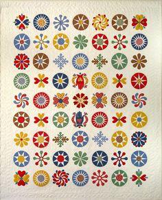 Helt vidunderlig smuk quilt syet i Kona Solids, de er på vej til stofhylderne hos BaliQuilt, det er sikkert og vist.