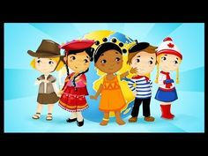 """song """"les pays du monde"""" -- adorable animated video introducing Peru, Greenland, Kenya, Australia, and Japan in French French Days, Core French, French Teaching Resources, Teaching French, World In French, Classroom Websites, French Songs, French Education, French Classroom"""