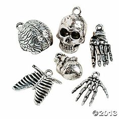 Body Parts Charms - just bought these. Surprisingly good quality.