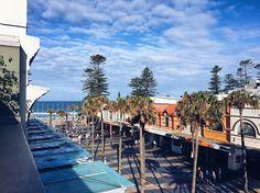 Good morning Manly #beachview #wanderlust #adventure #exploreyourcity #sydneysider #sydneyigers #manly #manlybeach #thecorso #vscocam #boardriderbackpacker