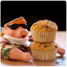 #Muffins de #puerro, #tocineta y #queso #Cheddar. http://amantesdelacocina.com/cocina/2012/02/muffins-de-puerro-tocineta-y-queso-cheddar/