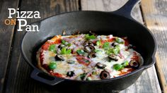 No Yeast, No Oven Pizza Recipe | Pizza without oven | Pizza on Tawa | fo...