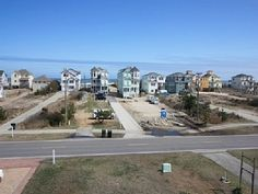 Nags Head oceanfront houses