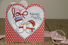 Card by PS DT Erin Lincoln using PS Cool Dudes Icons and stamp set, Love & Cherish dies