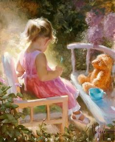 Illustration/Painting by Vladimir Volegov Vladimir Volegov, Art Pictures, Photos, Painting Pictures, Foto Art, Beautiful Paintings, Belle Photo, Painting & Drawing, Amazing Art
