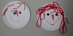 Raggedy Ann party activity