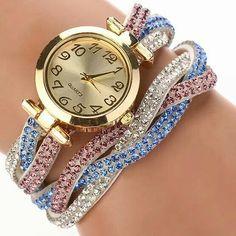 Women Quartz Wristwatch Gold Bracelet Wrist Watch Luxury Crystal Quartz Watch Fashion Casual Vintage Dress Clock 2016 New Watch Swiss Watch Brands, Women's Dress Watches, Classic Clocks, Casual Watches, Gold Fashion, Crystal Bracelets, Luxury Jewelry, Quartz Watch, Fashion Watches